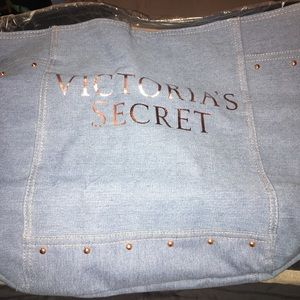 NWT Victoria's Secret Denim Bag
